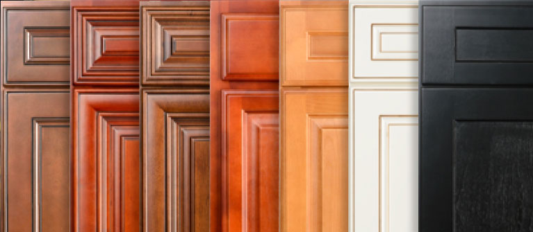 The color of your kitchen cabinets can set the tone for your design.