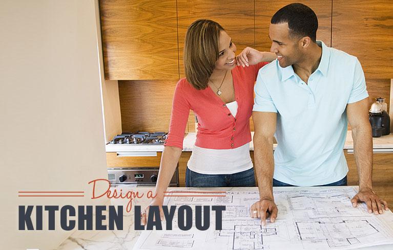 design a kitchen layout