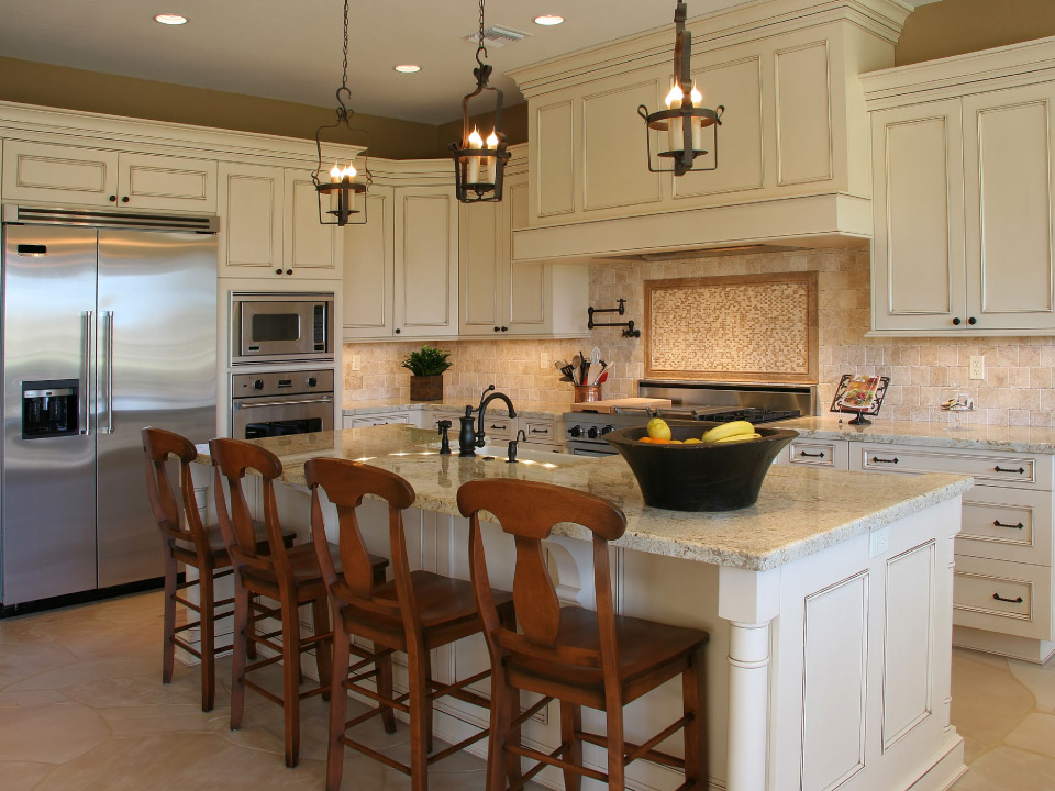 Great lighting for kitchen remodeling