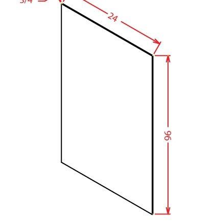 S2496 Shelf Board Cambridge Sable