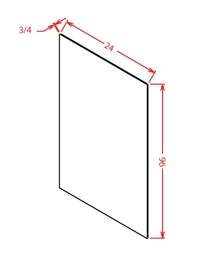 S2496 Shelf Board Shaker White