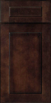 Shaker Espresso Sample Door