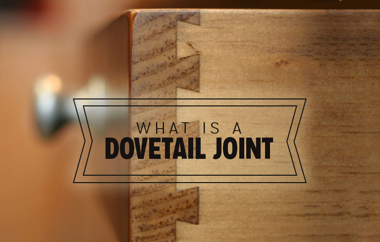 Dovetail cabinet drawers provide strength.