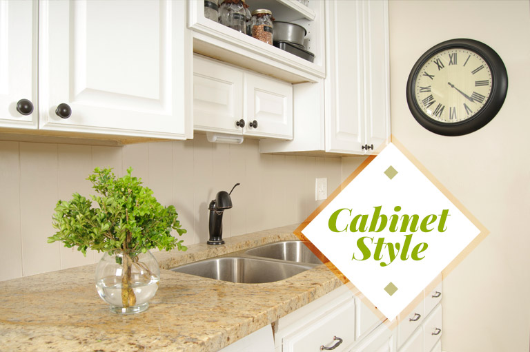 The style of kitchen cabinets is important to homeowners.