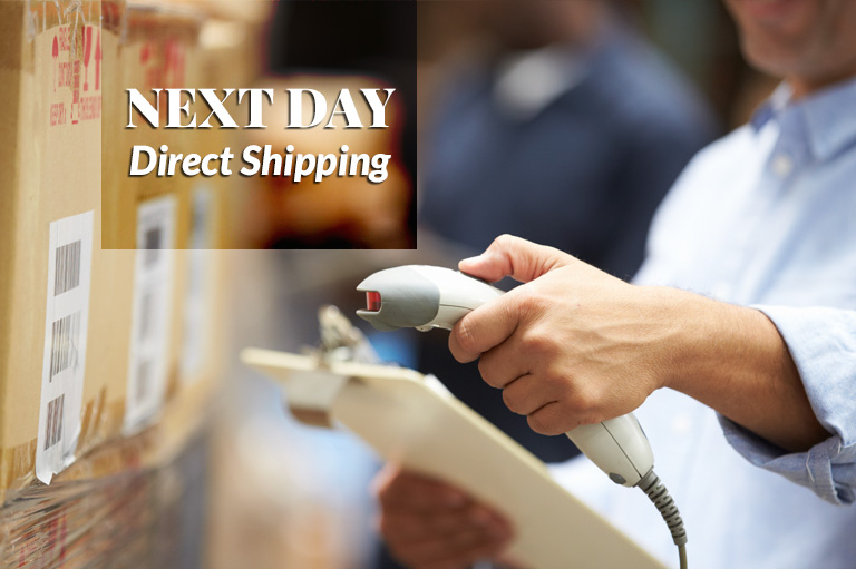Order online wholesale cabinets by noon for next day shipping.