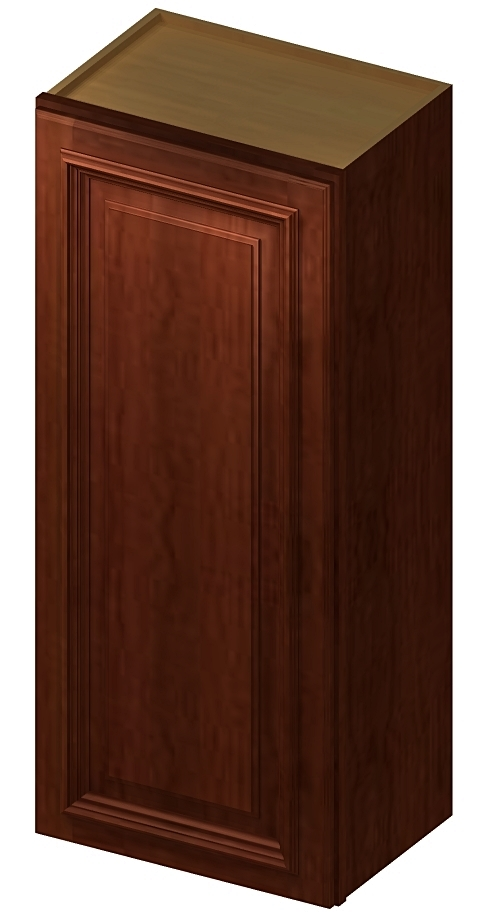 "CS-W1242 - 42"" High Wall Cabinet-Single Door - 12 inch ..."