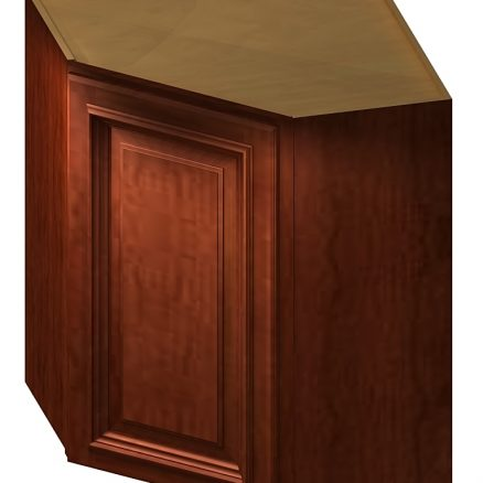 DCW2442 Diagonal Corner Wall Cabinet 24 inch by 42 inch Cambridge Sable