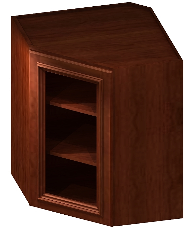 Cs Dcw2742gd Diagonal Corner Wall Cabinets 27 Inch Cabinetcorp