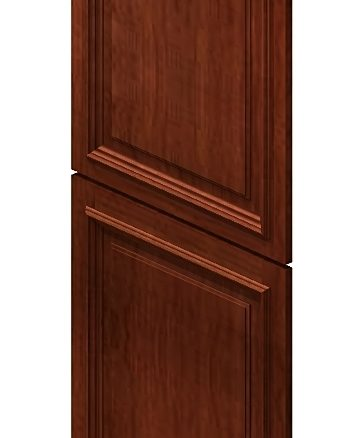 TDEP2496 Tall Decorative End Panel 24 inch by 96 inch Cambridge Sable