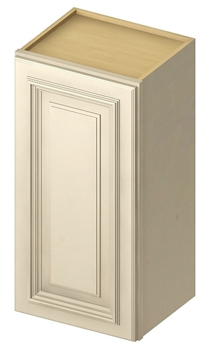 W1830 Wall Cabinet 18 inch by 30 inch Cambridge Antique White