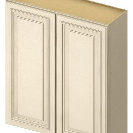 W3042 Wall Cabinet 30 inch by 42 inch Cambridge Antique White
