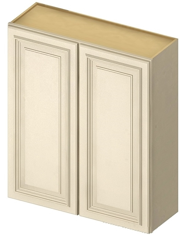 "CW-W3642 - 42"" High Wall Cabinet-Double Door - 36 inch ..."