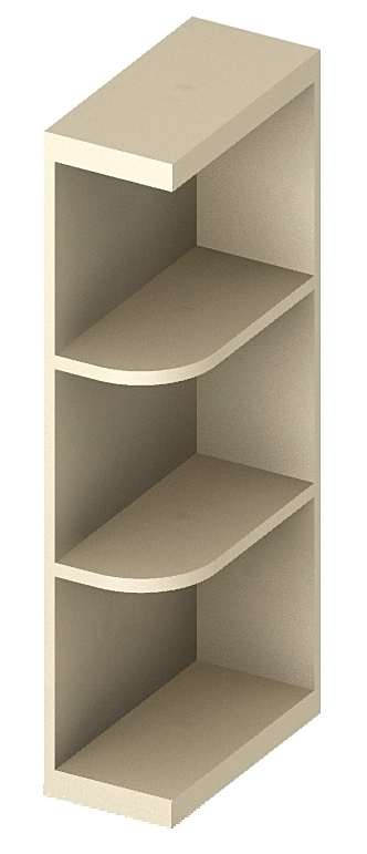 Cw Oe642 Open End Shelves 6 Inch Cabinetcorp