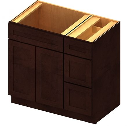 Swell Se V3021Dr Vanity Combo Bases Drawers Right 30 Inch Download Free Architecture Designs Embacsunscenecom