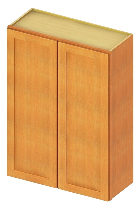 """SS-W3942 - 42"""" High Wall Cabinet-Double Door - 96 inch ..."""
