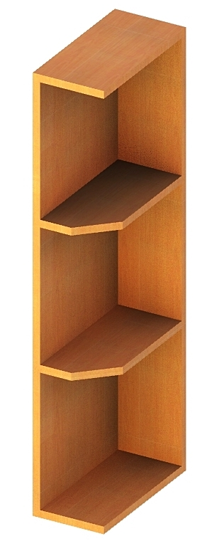 Svt Oe630 Wall End Shelf 6 Inch By 30 Cabinetcorp