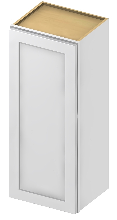 W1536 Wall Cabinet 15 inch by 36 inch Shaker White