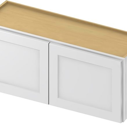 W3624 Bridge Cabinet 36 inch by 24 inch Shaker White