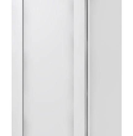 W1242 Wall Cabinet 12 inch by 42 inch Shaker White