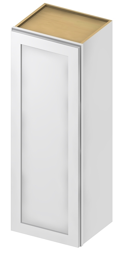 "SW-W1542 - 42"" High Wall Cabinet-Single Door - 15 inch ..."