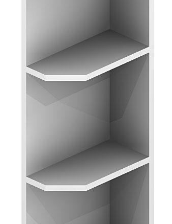 OE630 Wall End Shelf 6 inch by 30 inch Shaker White