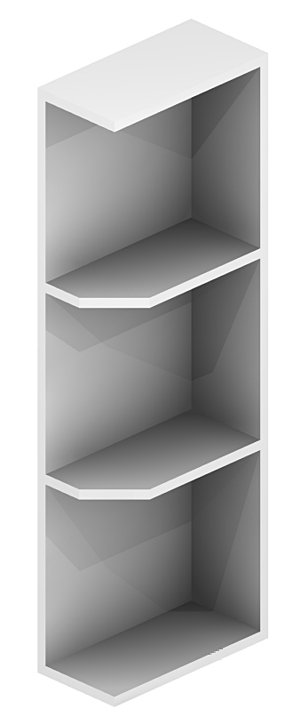 Sw Oe642 Open End Shelves 6 Inch Cabinetcorp