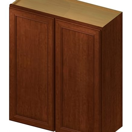 W2736 Wall Cabinet 27 inch by 36 inch Yorkshire Chocolate