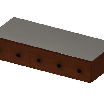 WSD630 Wall Cocoa Drawer Yorkshire Chocolate
