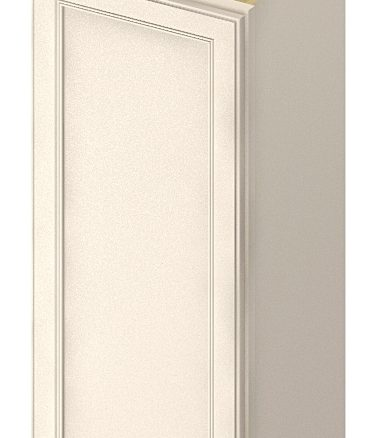 W1536 Wall Cabinet 15 inch by 36 inch Yorkshire Antique White