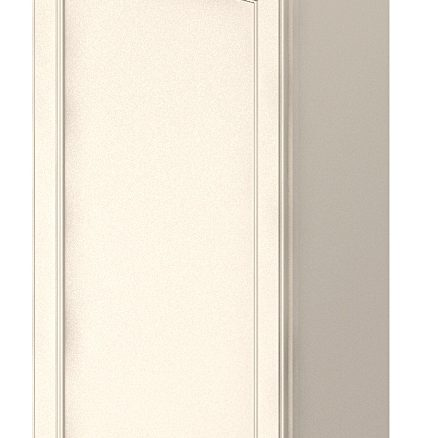 W1242 Wall Cabinet 12 inch by 42 inch Yorkshire Antique White