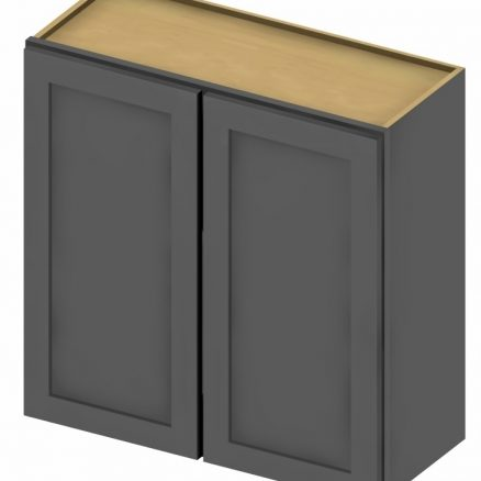 W2430 Wall Cabinet 24 inch by 30 inch Shaker Gray