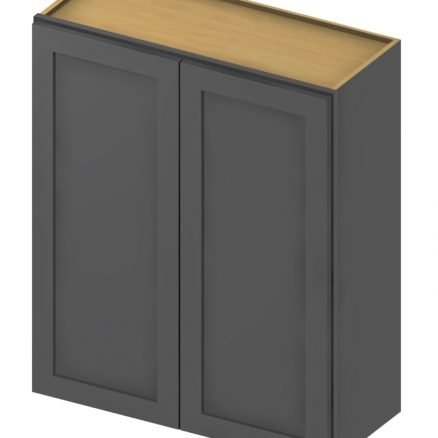W3336 Wall Cabinet 33 inch by 36 inch Shaker Gray