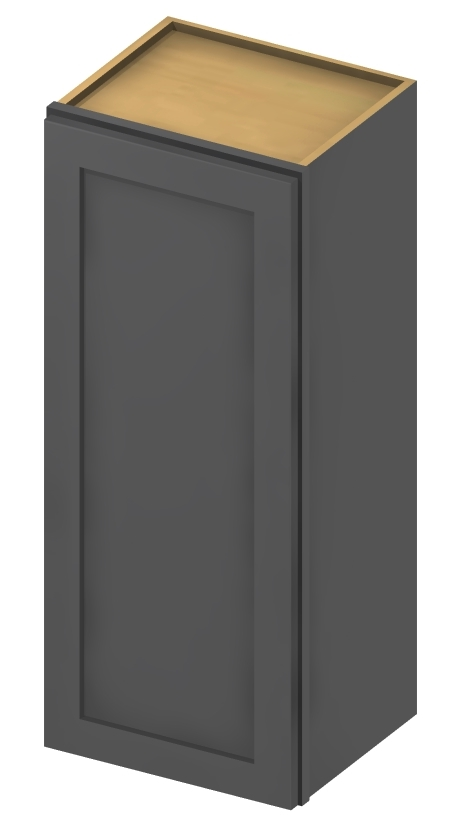 W1836 Wall Cabinet 18 inch by 36 inch Shaker Gray