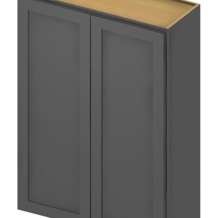 W2442 Wall Cabinet 24 inch by 42 inch Shaker Gray