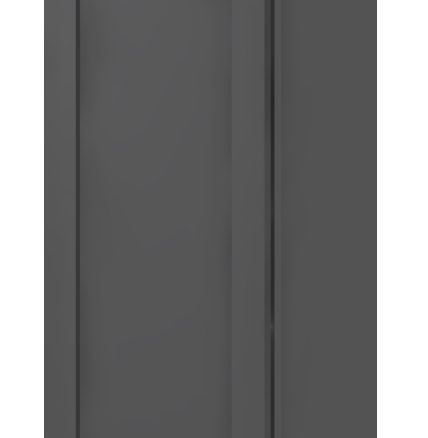 W0942 Wall Cabinet 9 inch by 42 inch Shaker Gray