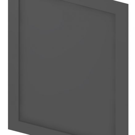 BDEP Base Decorative End Panel Shaker Gray