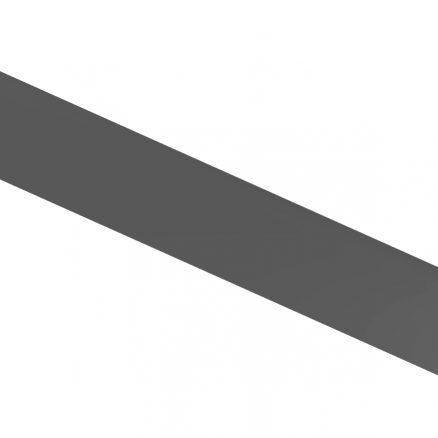 FBM Furniture Base Molding Shaker Gray