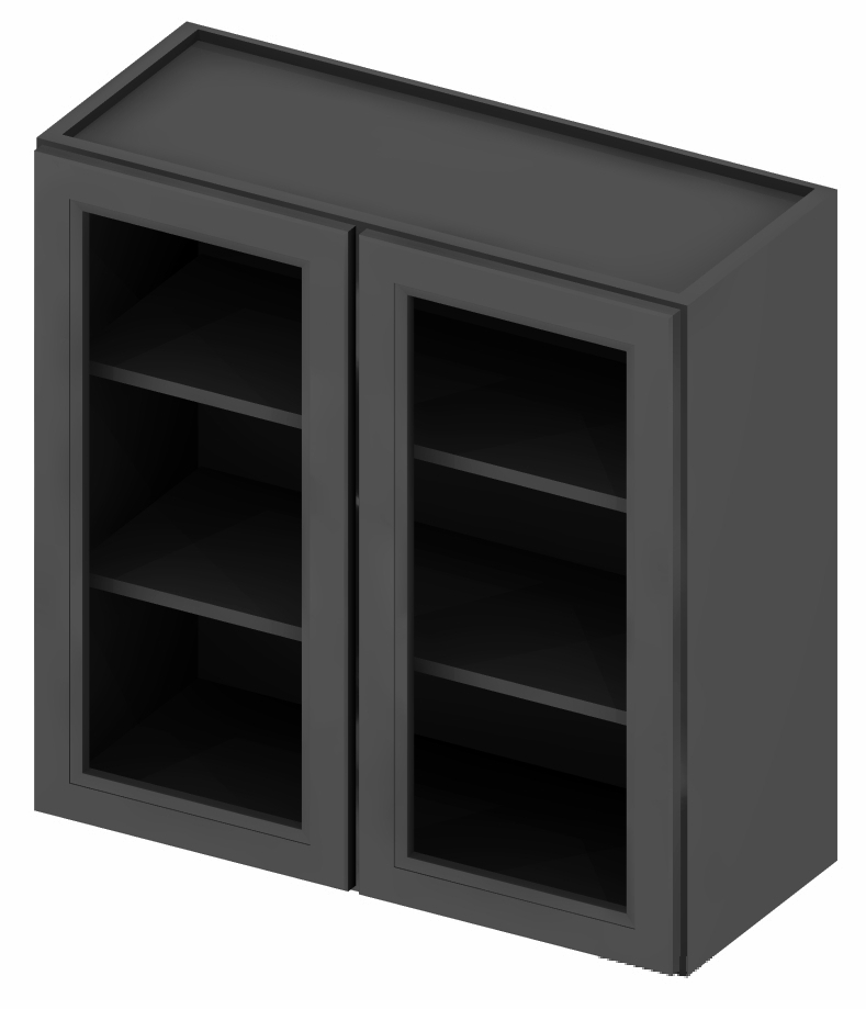"""SG-W2442GD - 42"""" High Wall Cabinet-Double Door - 24 inch ..."""