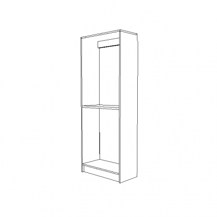 """White 30"""" Cabinet Chassis"""