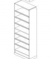 """Salt Oak Extra Shelves (Qty 3) 30"""""""