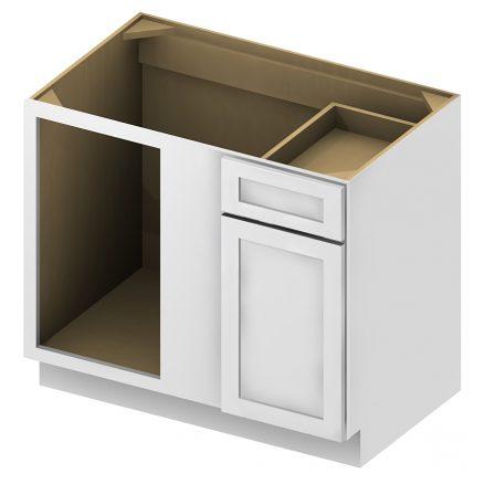 BBC36 Blind Base Cabinet 36 inch Shaker Antique White