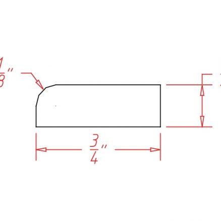 SCR Scribe Molding Shaker Dusk
