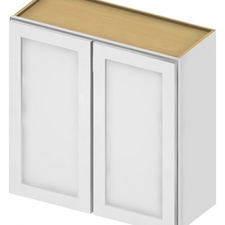 W3030 Wall Cabinet 30 inch by 30 inch Shaker Antique White