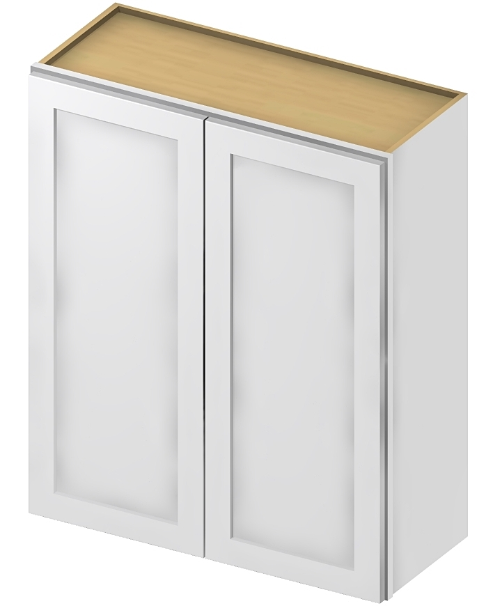 W3636 Wall Cabinet 36 inch by 36 inch Shaker Antique White