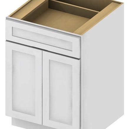 B27 Base Cabinet 27 inch Shaker Antique White