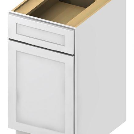 B18 Base Cabinet 18 inch Shaker Antique White