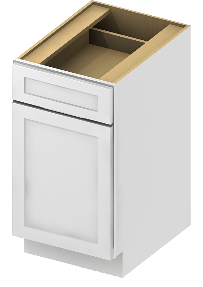 B12 Base Cabinet 12 inch Sheffield White