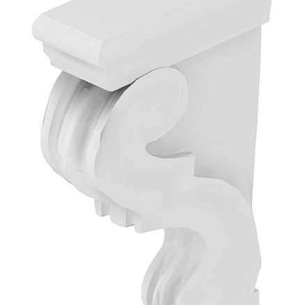 CBT Corbel Shaker Antique White