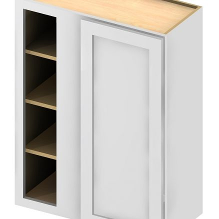 WBC2730 Wall Blind Cabinet 27 inch by 30 inch Shaker Antique White