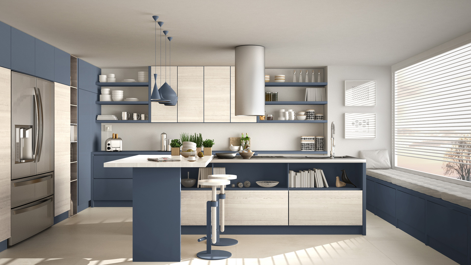 Kitchen Cabinet Color Trend This Summer 2018 - CabinetCorp
